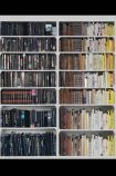 Mr Perswall Wallpaper - Communication Collection - Library-Colourful Knowledge - Black/Brown P131501-4