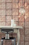 NLXL TIN-06 Brooklyn Tin Tiles Wallpaper By Merci - ROLL
