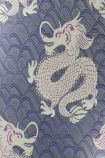 detail image of Matthew Williamson Celestial Dragon Wallpaper - Purple W6545-03 - SAMPLE