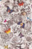 Osborne & Little Butterfly Garden Wallpaper - W6592-01 - ROLL