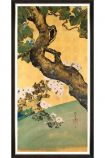 Image of the Framed Mind The Gap Paulownias & Chrysanthemums II Art Print