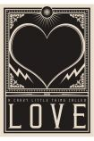 Image of the Unframed Crazy Little Thing Called Love Art Print