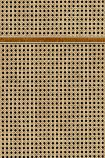 NLXL VOS-14 Vintage Square Webbing Wallpaper by Studio Roderick Vos - Oak - SAMPLE