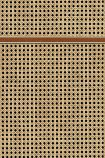 NLXL VOS-16 Vintage Square Webbing Wallpaper by Studio Roderick Vos - Mahogany - SAMPLE