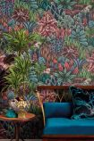 lifestyle image of cole & son the ardmore collection - singita wallpaper - 2 colours available