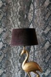 Chocolate Brown Sumptuous Velvet Lamp Shade - Medium
