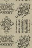 detail image of Christian Lacroix Belles Rives Collection - La Main Au Collet Wallpaper - Galet PCL020/02 - ROLL