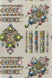 Christian Lacroix Belles Rives Collection - La Main Au Collet Wallpaper - Zinc PCL020/08 - ROLL