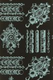 Christian Lacroix Belles Rives Collection - La Main Au Collet Wallpaper - Piscine PCL020/06 - ROLL
