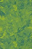 detail image of Christian Lacroix Butterfly Parade Collection - Eden Roc Wallpaper - Rainette PCL017/08 - ROLL green palm leaves on lime green background repeated pattern