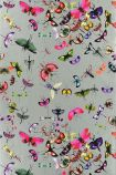 Christian Lacroix Nouveaux Mondes Collection - Mariposa Wallpaper - Zinc PCL666/06 - ROLL