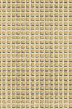 Cole & Son Geometric II - Mosaic Wallpaper - Buff & Gold 105/3014 - SAMPLE