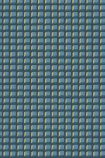 detail image of Cole & Son Geometric II - Mosaic Wallpaper - Blue & Gold 105/3016 - ROLL small square repeated pattern