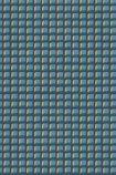Cole & Son Geometric II - Mosaic Wallpaper - Blue & Gold 105/3016 - SAMPLE