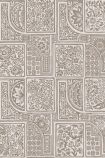detail image of Cole & Son Mariinsky - Bellini Wallpaper - Stone & Gilver 108/9048 - ROLL floral patterned tiles repeated pattern