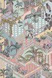 Cole & Son Icons Collection - Miami Wallpaper - Multicoloured 112/6023 - ROLL