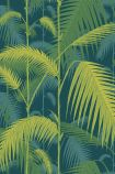 Cole & Son Icons Collection - Palm Jungle Wallpaper - Petrol & Lime 112/1002 - ROLL