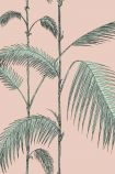 Cole & Son Icons Collection - Palm Leaves Wallpaper - Plaster Pink & Mint 112/2005 - ROLL