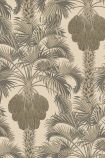 Cole & Son Martyn Lawrence Bullard Collection - Hollywood Palm Wallpaper - Light Gold 113/1003 - ROLL