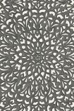 Cole & Son Martyn Lawrence Bullard Collection - Medina Wallpaper - Soot & Snow 113/7019 - ROLL