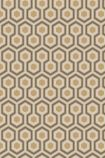 detail image of Cole & Son Contemporary Restyled - Hicks' Hexagon Wallpaper - Gold 95/3017 - ROLL honeycomb hexagon geometric repeated pattern
