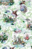 Christian Lacroix Au Thèâtre Ce Soir Collection - Reveries Wallpaper - Vert Buis - ROLL