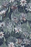 detail image of Engblad & Co Nackros Wallpaper 5372 - ROLL water lillies repeated pattern