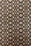 detail image of Matthew Williamson Mustique Wallpaper - Sand W6657-03 - SAMPLE art deco style repeated pattern