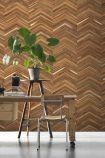 NLXL TIM-06 Timber Strips Wallpaper by Piet Hein Eek - ROLL
