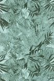 detail image of Christian Lacroix Butterfly Parade Collection - Eden Roc Wallpaper - Pin Parasol PCL017/06 - ROLL green palm leaves on green background repeated pattern