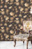 Va Va Frome Wallpaper by Pearl Lowe - Noir Black WM-229 - ROLL