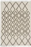 cutout image of Hackney Diamond Kelim Rug - Taupe - 160cm x 230cm on white background