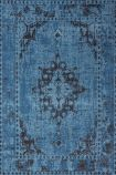 cutout image of Revive Wool Rug - Cobalt on white background