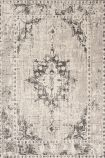 cutout image of Revive Wool Rug - Grey on white background