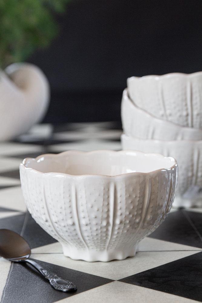 Antique White Ceramic Bowl Rockett St George