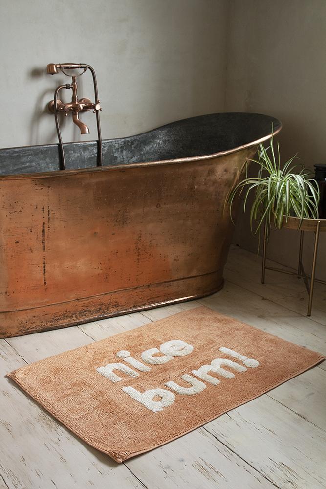 Peach Nice Bum Bath Mat Rockett St, Peach Bathroom Rugs