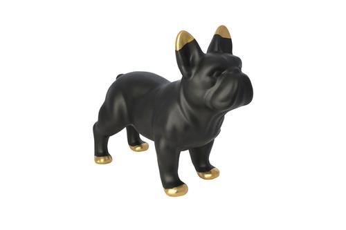 WIN: 1 x Black Ceramic Bulldog