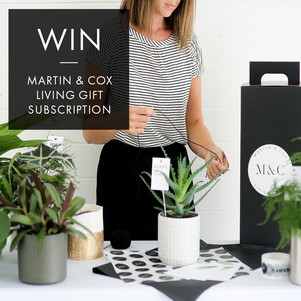 WIN: A BI-MONTHLY MARTIN & COX LIVING GIFT SUBSCRIPTION