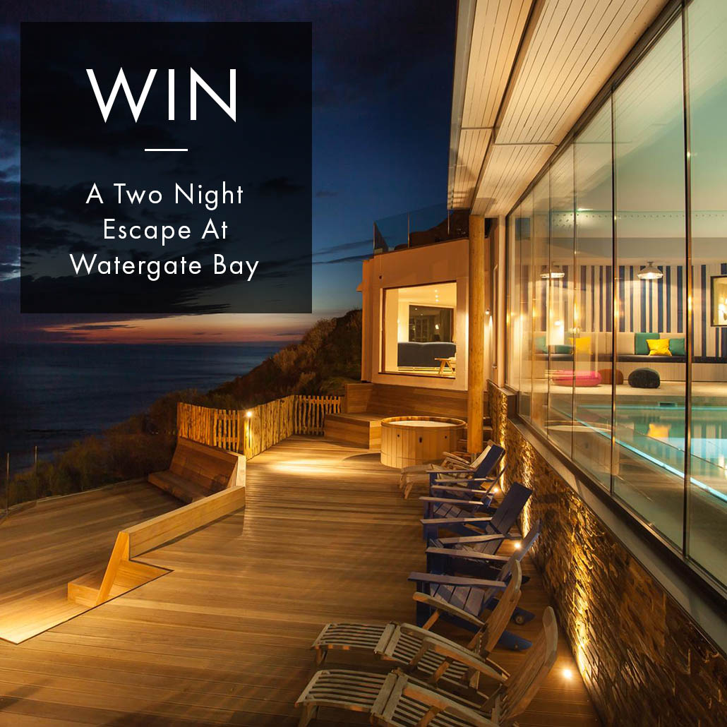 WIN: A 2 NIGHT STAY FOR TWO AT WATERGATE BAY