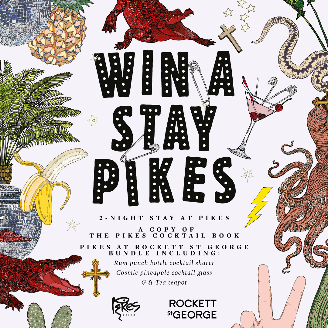 Win A Stay At Pikes Ibizia PLUS Cocktail Bundle