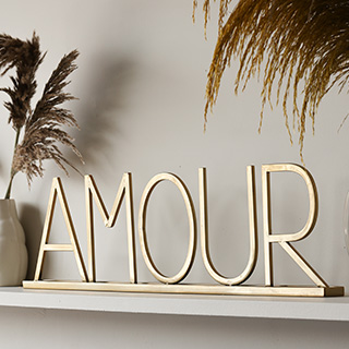 Image illustrating the New Amour Sign in our New Department